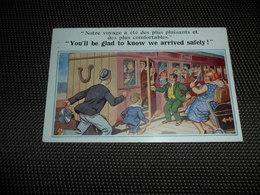 Illustrateur ( 1025 )  Pas De Signature  -  Humour  Humor  Comique 6642 - Illustrateurs & Photographes