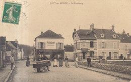 77 /   Jouy Sur Morin  :  Le Fazubourg ( Trace Pli )     ///   REF  JUIN .19 : BO 77 - France