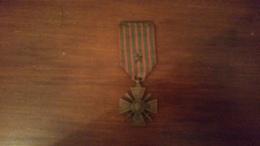 Croix De Guerre 1914-1915 Avec Une étoile - 1914-18