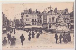 CPA - 87. ABBEVILLE Place De L'amiral Courbet Et Rue Alfred Cendré - Abbeville