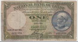 EGYPT  P. 20 1 P 1926 Poor - Aegypten