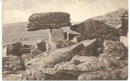 ROCKINGSTONE - RIPPON TOR - DEVON - WTIH ASHBURTON  - S.O. RAILWAY POSTMARK - England