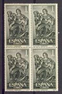 Spain 1963 - Navidad Ed 1535 Bloque - 1961-70 Nuevos & Fijasellos