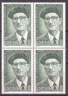 Spain 1993. Jorge Guillen Ed 3275 (**) Bloque - 1931-Hoy: 2ª República - ... Juan Carlos I