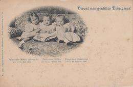 CPA Précurseur Luxembourg - Vivent Nos Gentilles Princesses ! Marie Adelaïde, Hilda, Charlotte - Koninklijke Familie