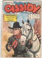 HOPALONG CASSIDY N°98  : BIMENSUEL - NOVEMBRE 1956 - IMPERIA - Bücher, Zeitschriften, Comics