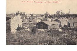 LE FRONT DE CHAMPAGNE LE VILLAGE DE SOMME PY - Guerra 1914-18