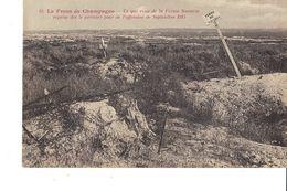 LE FRONT DE CHAMPAGNE  CE QUI RESTE DE LA FERME NAVARIN - Guerra 1914-18