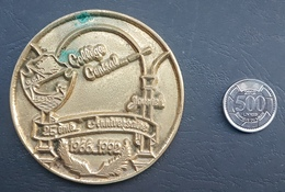 Lebanon 1992 Beautiful Large & Thick Medal - 25th Anniv College Central 1966-1992 - Tokens & Medals