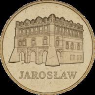Poland, 2 Zloty, 2006 Jaroslaw - Polonia