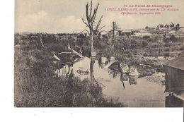 LE FRONT DE CHAMPAGNE  SAINTE MARIE A PY  DÉLIVRE PAR LA 151e DIVISION D INFANTERIE SEPTEMBRE 1918 - Guerra 1914-18