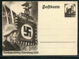 """Deutsches Reich / 1934 / Sonderpostkarte """"Reichsparteitag"""" ** (18303) - Allemagne"""