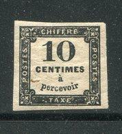 Frankreich / 1859 / Portomarke Mi. 2 * (18305) - Taxes