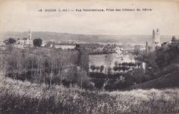 OUDON - Vue Panoramique, Prise Des Côteaux Du Hâvre - Oudon