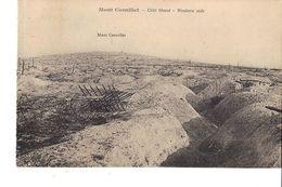 MONT CORNILLET COTE OUEST WESTERN SIDE - Guerra 1914-18