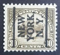 1923, American Buffalo, New York, Preoblitere, Precancel, United States Of America, USA, Used - United States