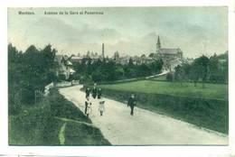 Belgium Montzen Avenue De La Gare Et Panorama 1927 R - Plombières