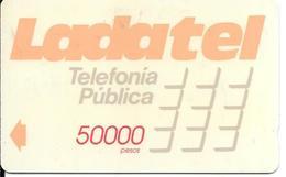 CARTE-MAGNETIQUE-MEXIQUE-1990-TELMEX-50000 Pesos-GENERIQUE-TBE - Mexique