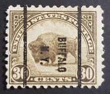 1923, American Buffalo, Buffalo, New York, Preoblitere, Precancel, United States Of America, USA, Used - United States