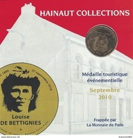 Encart Monnaie De Paris 59. Saint Amand Les Eaux - Louise De Bettignies 2010 - Monnaie De Paris
