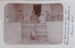 AK Foto Strehaia - Deutsche Soldaten Mit Bauern - Erinnerung An Den Eiereinkauf - 1917  (41961) - Rumänien