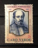 Cabo Verde, 1969- 1 Centenario Da Reforma Administrativa Ultramarina. Luis Da Silva. Used NH. 30c - Cape Verde