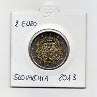 Slovacchia - 2013 - 2 Euro Commemorativo FDC - Costantino E Metodio - (MW2461) - Slowakije