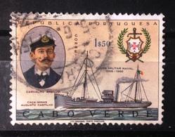 Cabo Verde 1967- Clube Militar Naval, Carvalho Araujo. Used. Trace Of Hinge. - Cape Verde