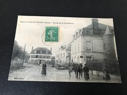 NEUILLY SAINT FRONT (Aisne) Route De La Ferté Milon - 1911 Timbrée - Sonstige Gemeinden