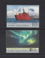 A.A.T.....QUEEN ELIZABETH II.(1952-NOW)...SET OF 2......$1.20....43c.....MNH. - Australian Antarctic Territory (AAT)