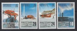 B.A.T.....QUEEN ELIZABETH II.(1952-NOW)...SET OF 4....TRANS ANTARCTIC EXPEDITION  1955-.58.....MNH. - British Antarctic Territory  (BAT)