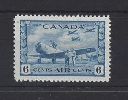 CANADA....KING GEORGE VI.(1936-52)..6c....SG399....( CAT £32...)....MH. - Unused Stamps