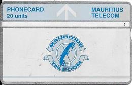 CARTE-HOLOGRAPHIQUE-MAURICE-20U-UTILISE-V° N° Envers 605A73147-BE-RARE - Mauritius