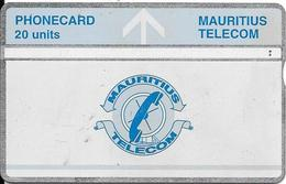 CARTE-HOLOGRAPHIQUE-MAURICE-20U-UTILISE-V° N° Envers 605A73147-BE-RARE - Maurice
