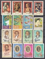 (09) Fudschaira/Fujairah/Fujeira - 32 Used Stamps From The Year 1971 - See 2 Scans - Fudschaira