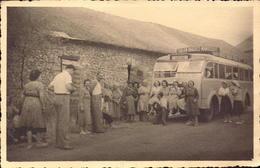 Var, Alpes De Haute Provence, Ligne D Autocar (toulon, Barjols, Manosque)  A Identifier  (bon Etat) Photo Format Carte. - France
