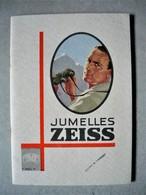 Ancien CATALOGUE D' OPTIQUE JUMELLES LONGUE VUES  ZEISS JENA GERMANY 54 Pages Année 1928 - Frankreich