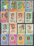 (10) Fudschaira/Fujairah/Fujeira - 32 Used Stamps From The Year 1971 - See 2 Scans - Fudschaira