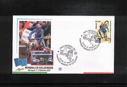 Italia / Italy 2003 Cycling World Cyclocross Championship Interesting Cover - Radsport