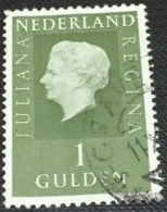 Netherlands 1969 Queen Juliana 1G - Used - Used Stamps