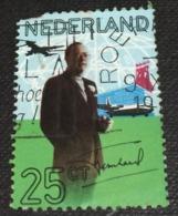 Netherlands 1971 50th Birthday Of Prince Bernhard 25c - Used - Period 1949-1980 (Juliana)