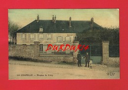 77 Seine Et Marne LA CHAPELLE Hospice De Crécy  ( Côté Vue Toilée ...) - France