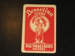 1 Oude Speelkaart DESSELINA Brouwerij RAEYMAECKERS Te DESSEL Brasserie - Otros