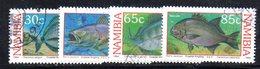 APR1441 - NAMIBIA 1993 , Serie Yvert N. 720/723 Usata (2380A) .pesci Fish - Namibia (1990- ...)
