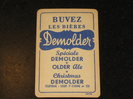 1 Oude Speelkaart Brouwerij DEMOLDER Te COURT St ETIENNE Brasserie - Autres