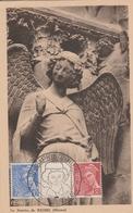OBLIT. GF ILLUSTRÉE SALON Du PRISONNIER - REIMS 5/44 - Postmark Collection (Covers)