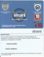 GREECE - Ministry Of Defense/Hellenic Air Force, ACN Internet Prepaid Card 10 Euro, Tirage 1000, Sample - Army
