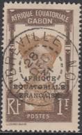 Gabon 1924-1933 - Libreville Sur N° 105 (YT) N° 102 (AM). Oblitération De 1931. - Usados