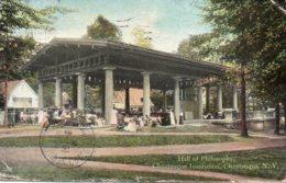 Cpa New York Hall Of Philosophy,Chautauqua Institution. - Autres Monuments, édifices