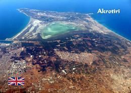 Akrotiri British Sovereign Base Aerial View Cyprus New Postcard Zypern AK - Zypern